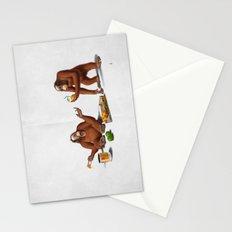 Orange Man (Wordless) Stationery Cards
