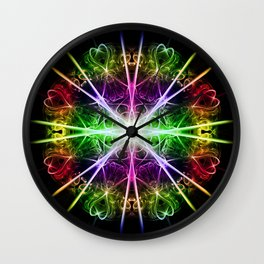 Love in the stars Wall Clock