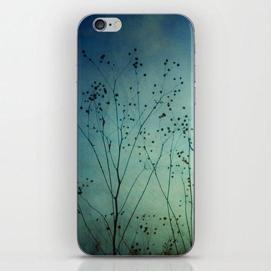 Fleeting Moment - Blue Shades iPhone & iPod Skin
