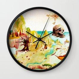 Peter Pan Map Wall Clock