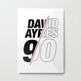 """Ayres 90"""" Metal Print"""
