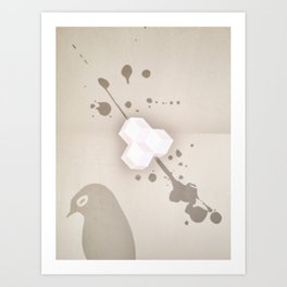 Sleepless Avian Art Print