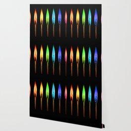 rainbow matches Wallpaper