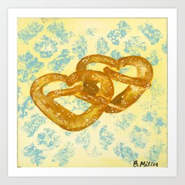 Philly Soft Pretzels Art Print