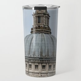 St. Pauls Cathedral Dome Anglican Church London England Travel Mug