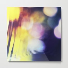 City lights - Abstract Photography Metal Print