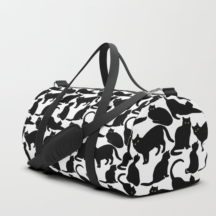 Black Cats Duffle Bag