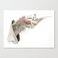 the smell Canvas Print