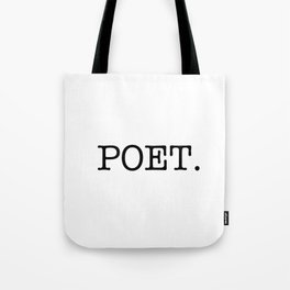 POET. Tote Bag