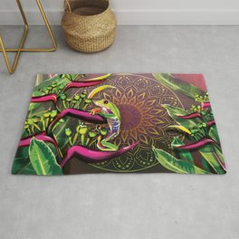 Red Eyed Tree Frog Rug