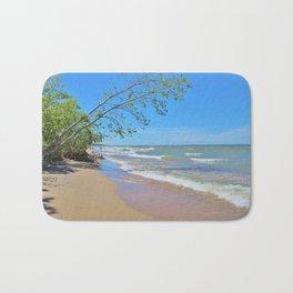 Serene Beach Bath Mat