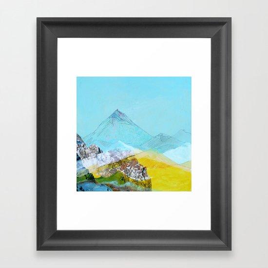 Mile High Framed Art Print