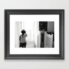 goodbye my friend Framed Art Print