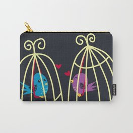 Birdcage Love Carry-All Pouch