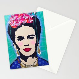 Mexican Folk Fridasbutterflies Stationery Cards