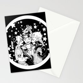 Three cats Stationery Cards