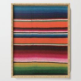 BEAUTIFUL MEXICAN SERAPE Serving Tray