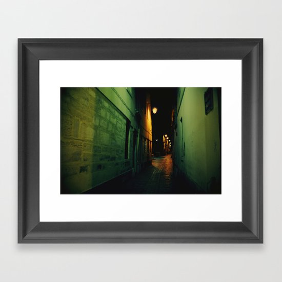 Darkway Framed Art Print