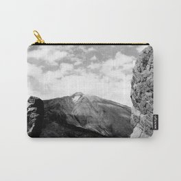 Teide in black Carry-All Pouch