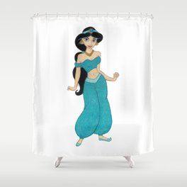 Princess Jasmin Shower Curtain
