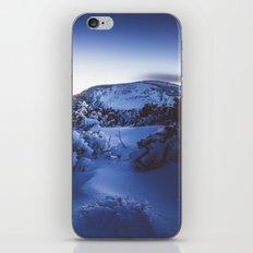 Cold night iPhone Skin