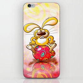 Proud Easter Bunny iPhone Skin