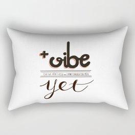 Because positivity y'all! Rectangular Pillow