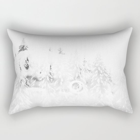 forest girl Rectangular Pillow