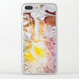 Petal Mural Clear iPhone Case