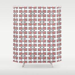 ribbon 23-ornamental,fabrics,fashion,decorative,girly,gentle Shower Curtain