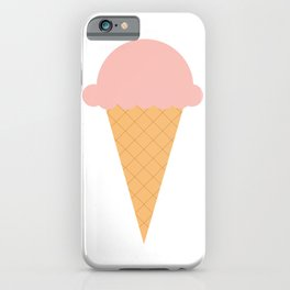 Strawberry Ice-cream iPhone Case