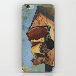 Rocking House Finch iPhone Skin