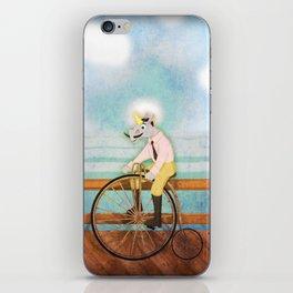 Bicycle Unicorn V02 iPhone Skin