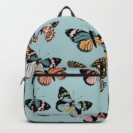 You Give Me Butterflies.. - Light Blue Backpack