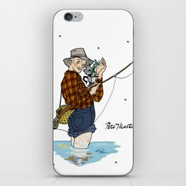 Pete Martell Pin-up iPhone Skin