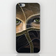 emerald eyes iPhone & iPod Skin