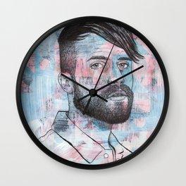 Tyler Glenn - My Heart's Gonna Break Before The Night Will End Wall Clock