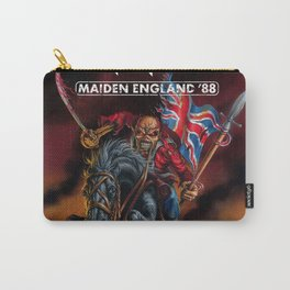 iron maiden england 1988 Carry-All Pouch