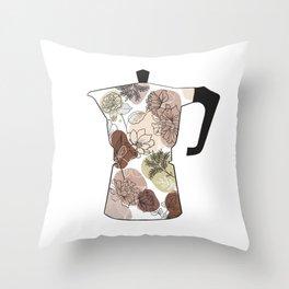coffee maker Throw Pillow
