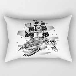 SAILING THROUGH THE UNIVERSE Rectangular Pillow