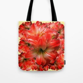 Amaryllis Floral abundance Tote Bag