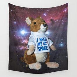 I need my space plush kangaroo Wall Tapestry