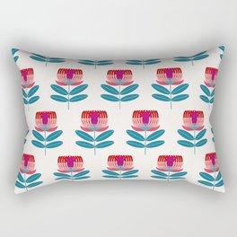 Waratah Bloom Rectangular Pillow