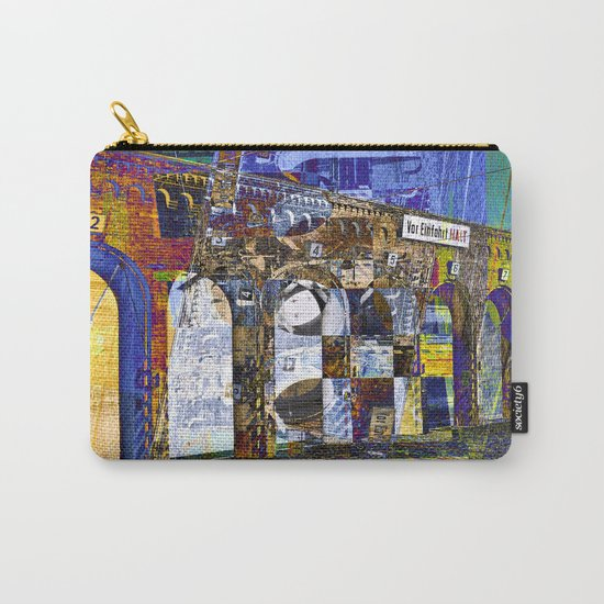 City Facade of Berlin Carry-All Pouch