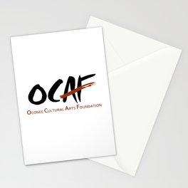 OCAF Logo Stationery Cards