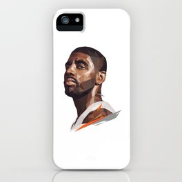 Low Poly Kyrie Erving iPhone Case