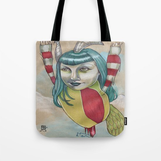 SNOW MONSTER Tote Bag
