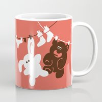 kindle Mugs featuring The Day We Met by Efon Vee