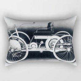 Ford quadricycle Rectangular Pillow