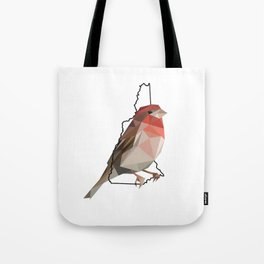 New Hampshire – Purple Finch Tote Bag